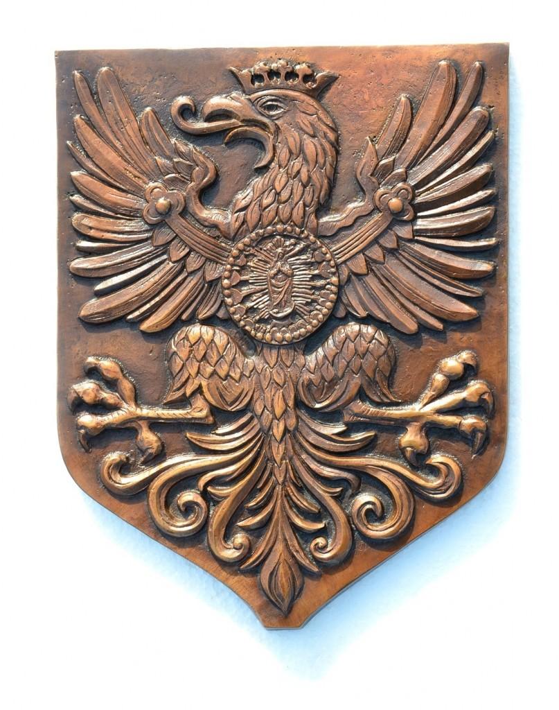 Orzeł z czasów Jana III Sobieskiego Tomasz Jędrzejewski