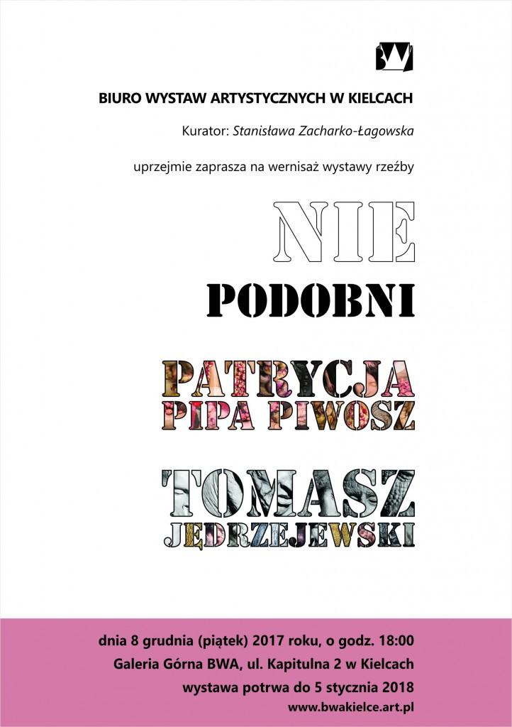 Zaproszenie rewers Patrycja Pipa Piwosz Tomasz Jędrzejewski 8 grudnia 2017